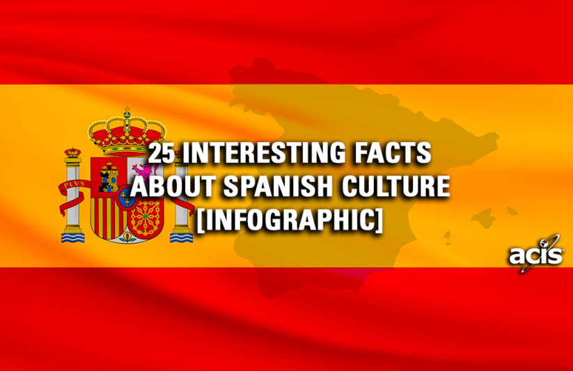 25 Interesting Facts About Spanish Culture Infographic | ACIS Educational  Tours