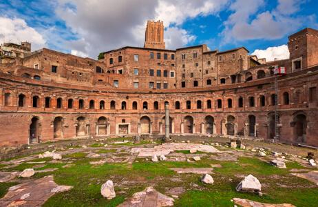 Roman Forum in Italy