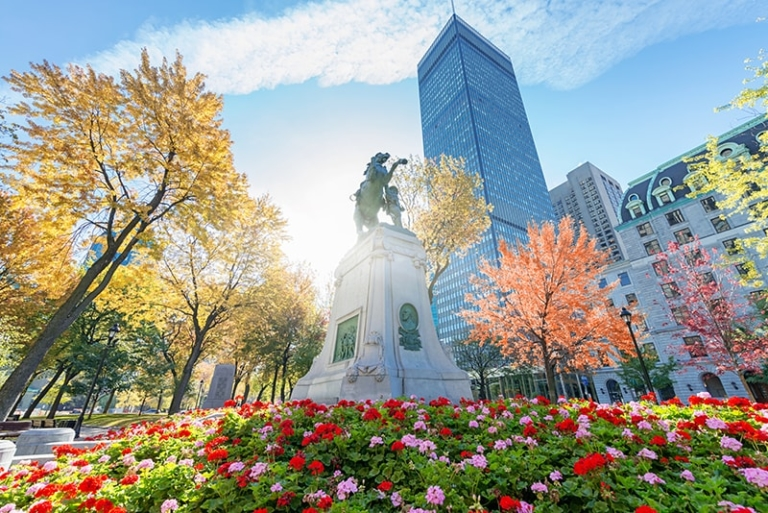 Place du Canada in Montreal