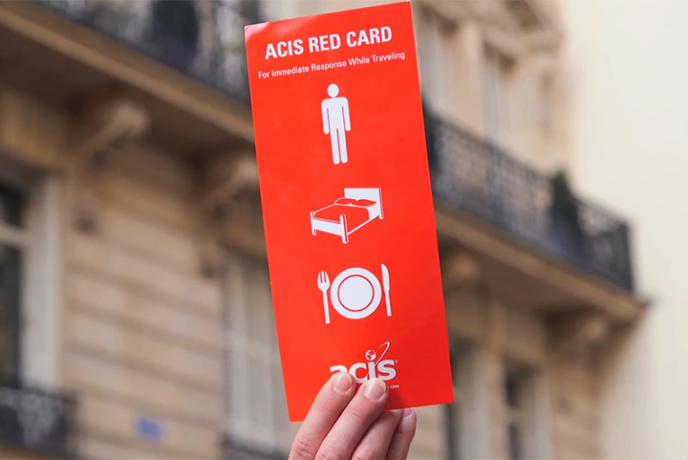 ACIS' red card