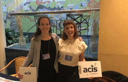 ACIS Staff posing for photo at conference