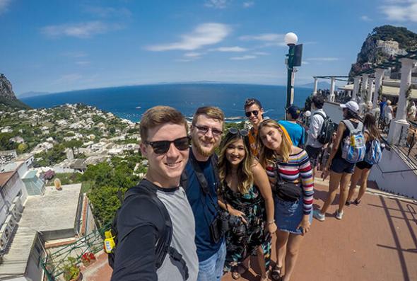 Group in Capri