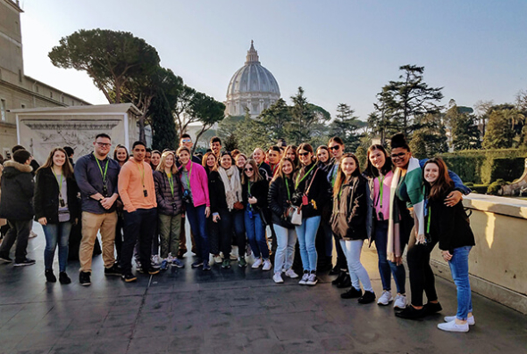 ACIS group in the Vatican