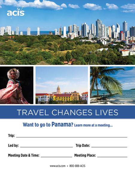 Panama Meeting Flyer