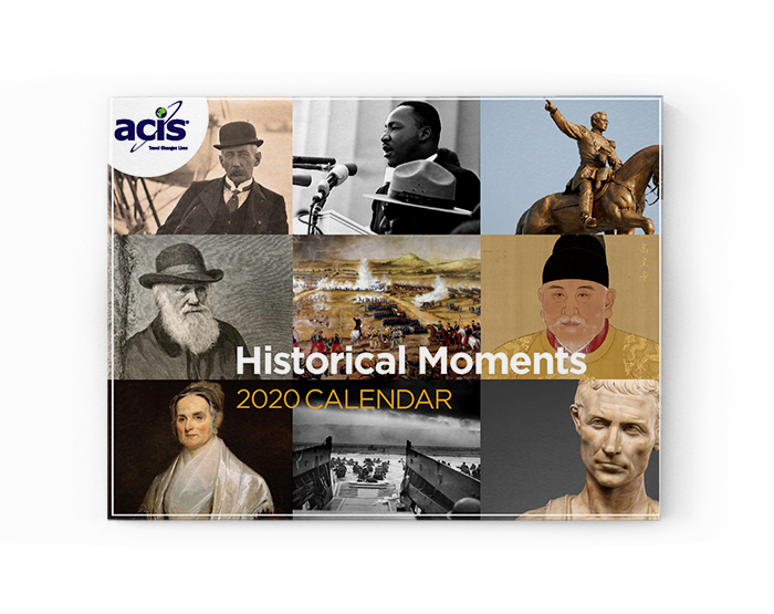 2020 Historical Moments Calendar Cover