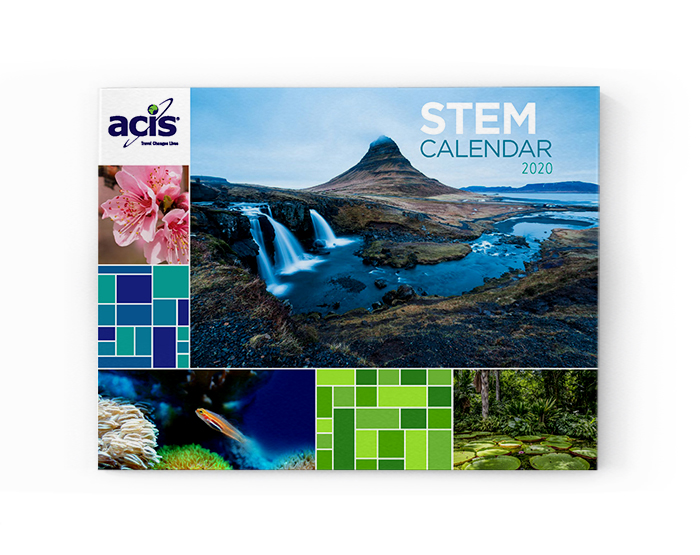 2020 STEM Calendar Cover