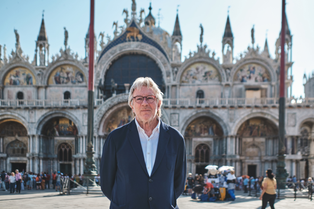 Peter Jones in Venice Piazza San Marco