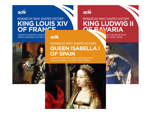 Covers of Monarchs who shaped history lesson plans