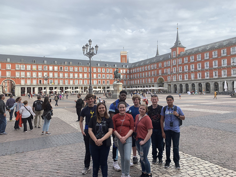 Tim's group in Madrid
