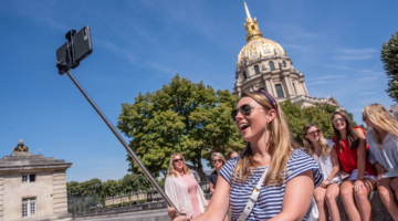 Paris Les Invalides Selfie