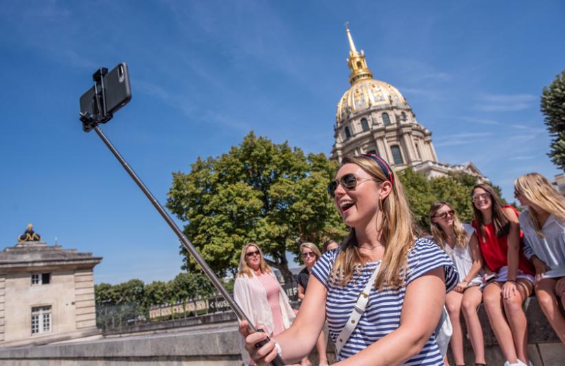 Paris Les Invalides Selfie