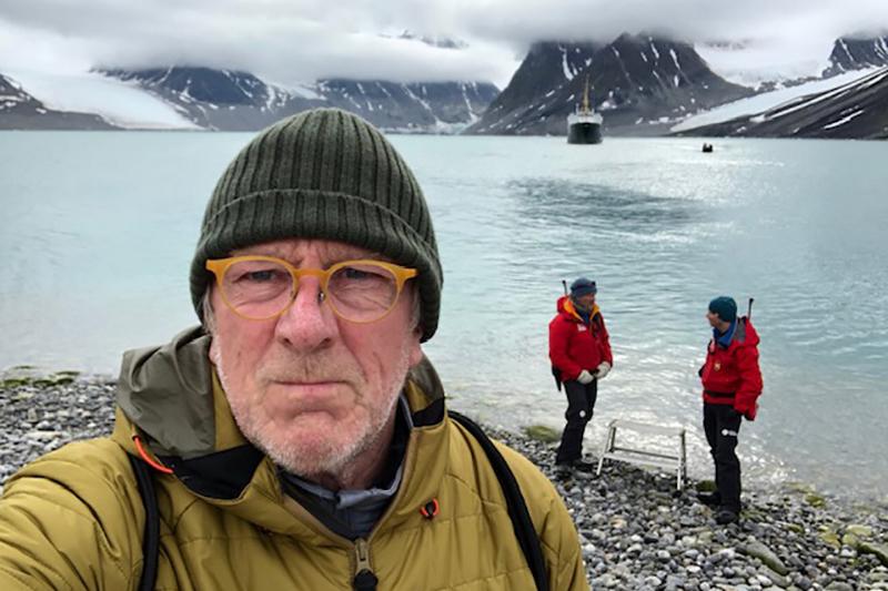 Peter Jones in Svalbard