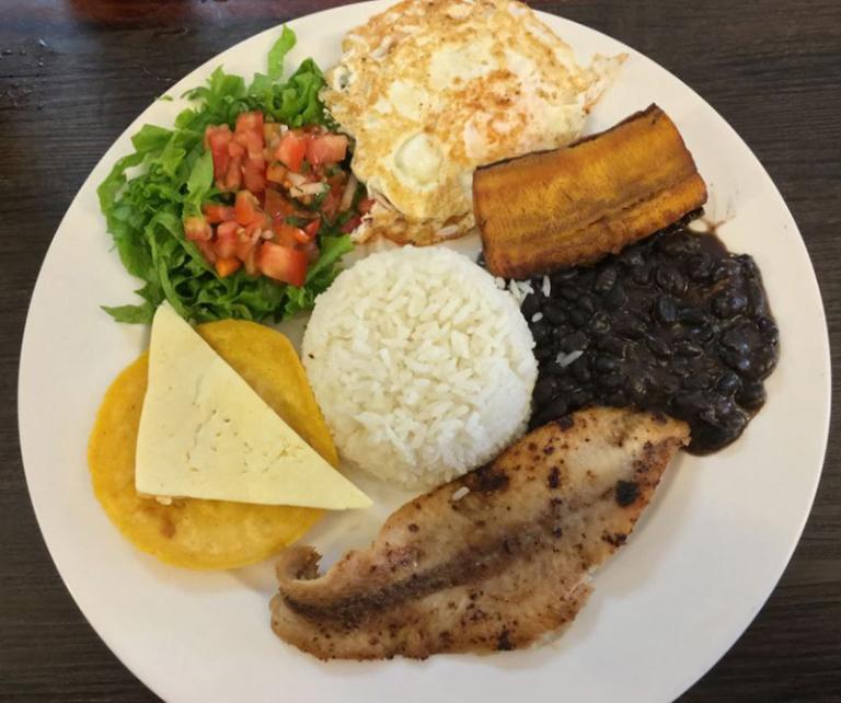 Dinner in Costa Rica
