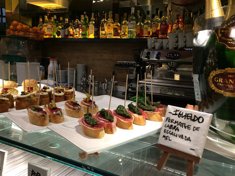 Pinxtos bar in Barcelona