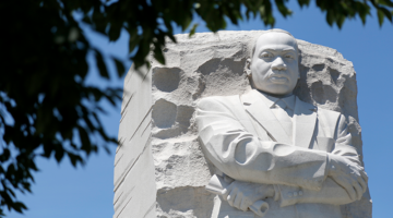 Martin Luther King Monument in Washington, DC
