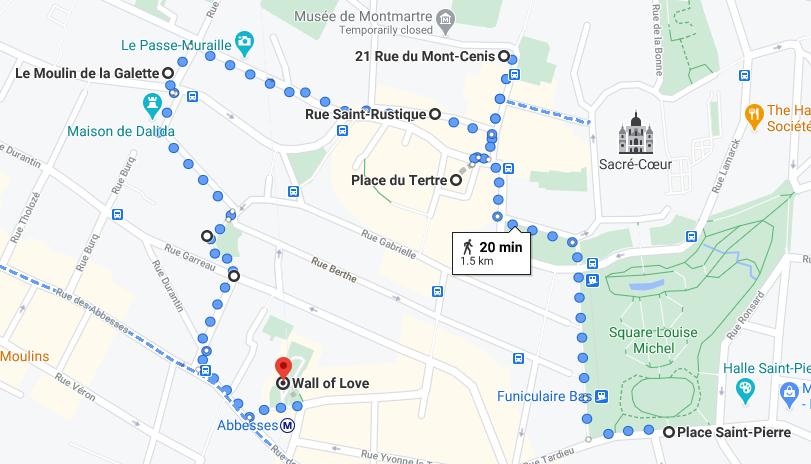 Paris Walk 4 – Montmartre