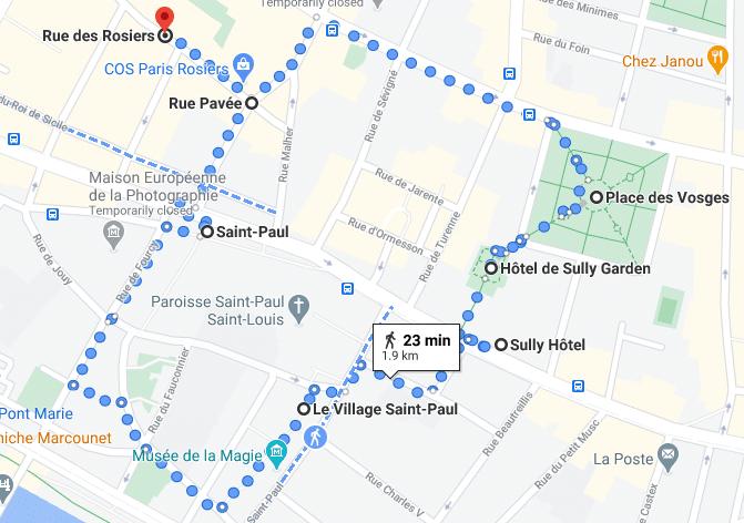 Paris Walk 5 – Les Marais