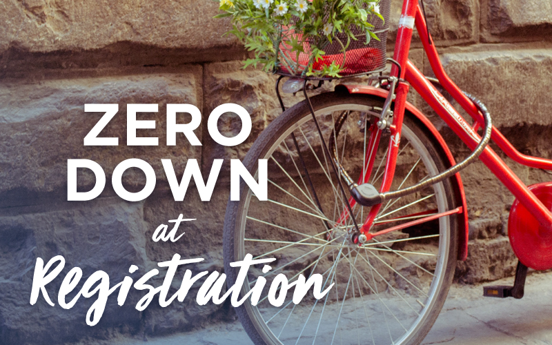 Zero Down at ACIS Registration