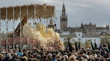 Semana Santa procession in Seville