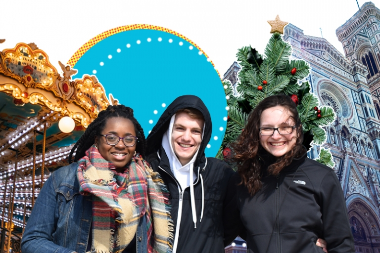 Holiday Tours with ACIS collage