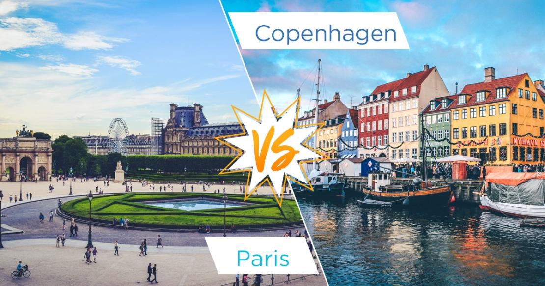 Paris view vs Copenhagen marina