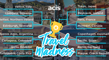 ACIS Travel Madness Bracket