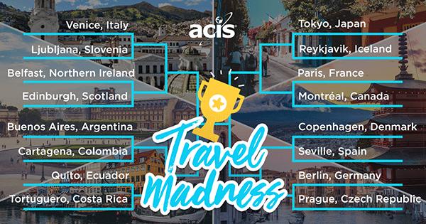 ACIS Travel Madness Bracket