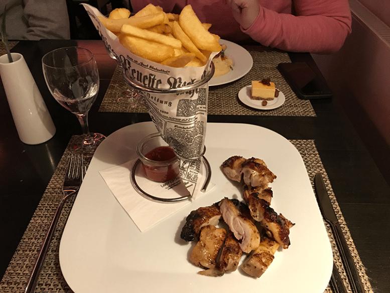 Berlin restaurant food