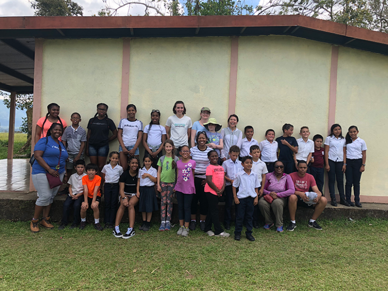 Visit with Local Students in San Carlos Cultural Connection