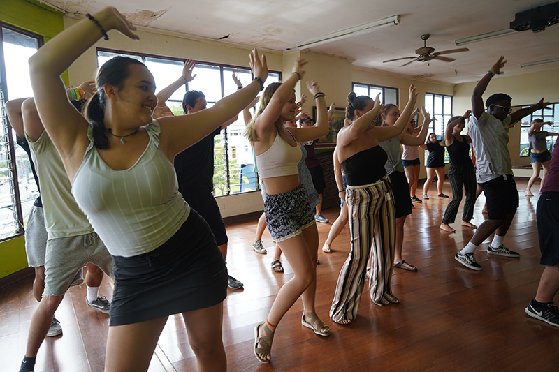 Costa Rican Dance Lesson Cultural Connection
