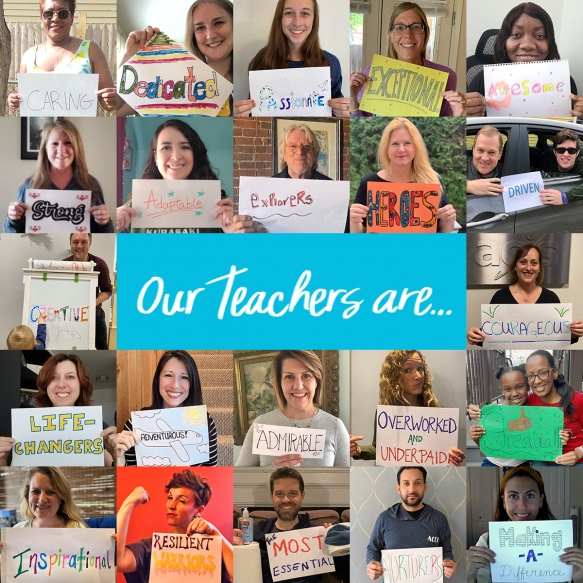 Happy Teacher Appreciation Week 2021