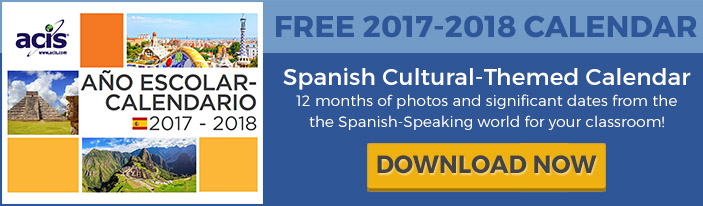 2017-2018 Spanish Cultural Calendar