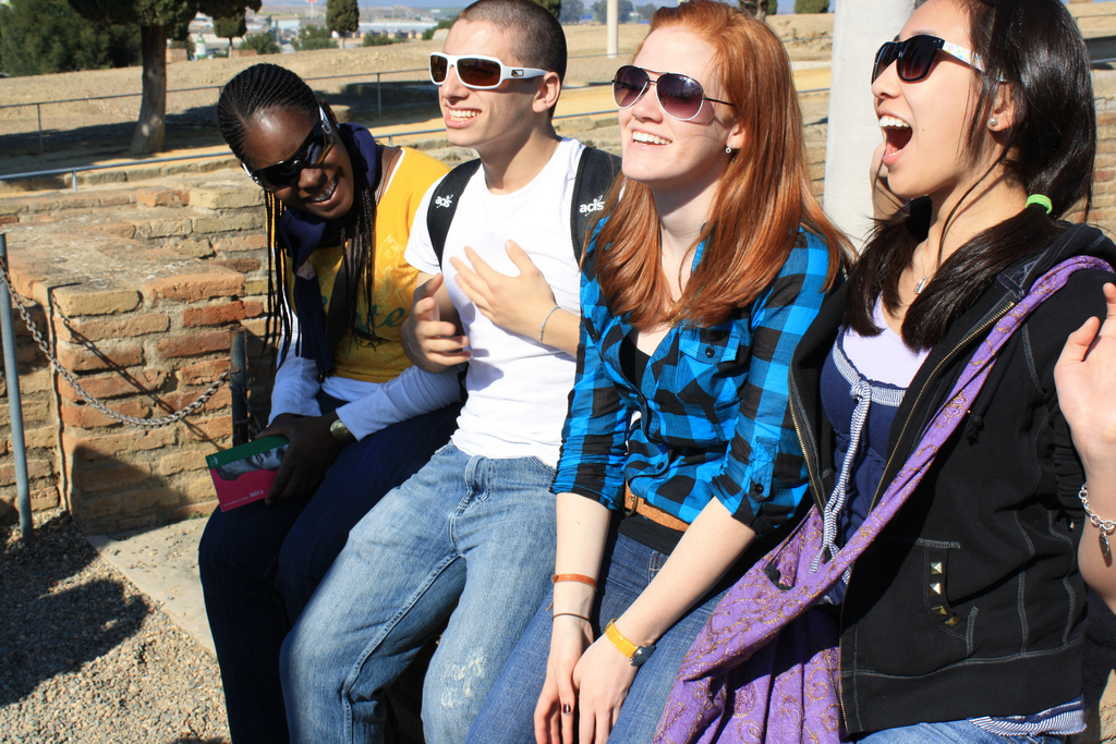 Spain_Students_Laughing