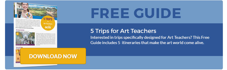 5 Trips for Art Teachers