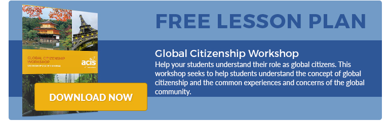 Global Citizenship Lesson Plan
