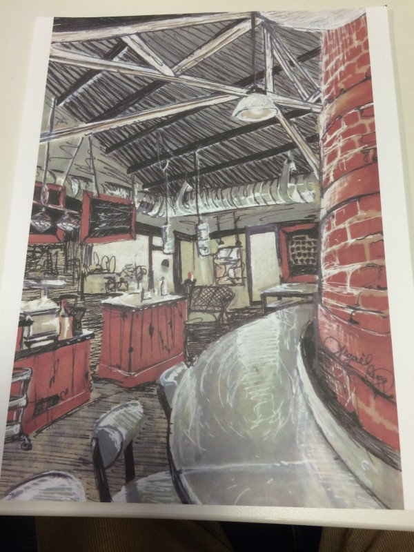 The Local Coffee Shop, by Abigail Rugg