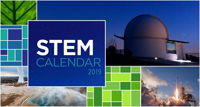 Download the 2019 ACIS STEM Calendar!